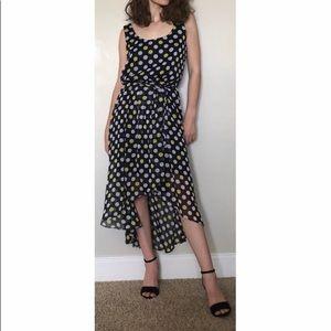 Mock Wrap Summer Dress